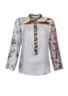 La Prestic Ouiston Madame Silk Blouse. #style #fashion #donnaidadenim