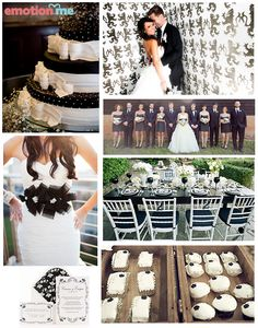 #Inspiração: Casamento Preto, Branco e Prata