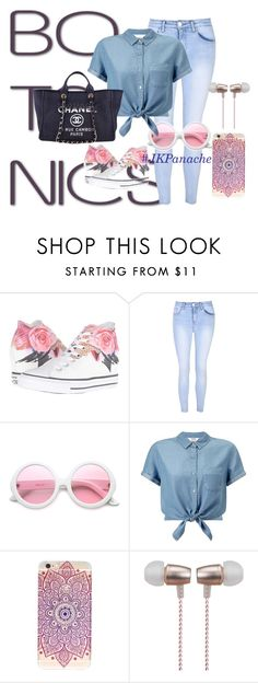 """""""#OOTD #Fashion #FantasyWardrobe #ClosetStories #Backtoschool #Summer #Style"""" by fashionbutterfly06 on Polyvore featuring Converse, Glamorous, ZeroUV, Miss Selfridge, Chanel and Cynthia Rowley"""