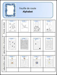 Alphabet - L'école de Julie Julie, Preschool, Positivity, Teaching, Cycle 2, Maths, Kids Learning, Peda, Cursive Alphabet Letters