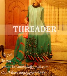 ID: 726 COST: PKR 2500/ USD 26/ GBP 17 To Buy: Email: threaderpk@gmail.com Call/Viber: 00923472076667
