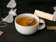 Teabags that turn into goldfish in water...