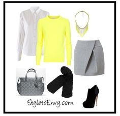 Office style neon & neutral