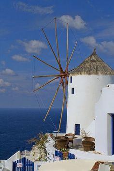 Santorini island,
