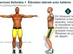 Exercices musculation pour Deltoïde  Élévation latérale - Vidéo dailymotion ffb02176fe2