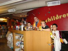 Centennial Park Library in Greeley, CO held a ZOMBIE LOCK-IN. Looks like their was an army of readers on head to battle zombies! What fun! Thanks for sharing Khristine!