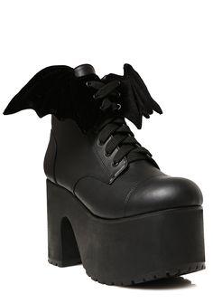 Current Mood Nocturnal Platform Boots