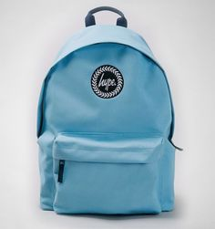 Hype Plain Backpack Sky Blue