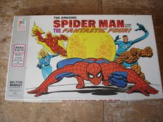 Vintage 1970's Amazing Spider Man  Board by VintageUrbanAntiques, $22.99