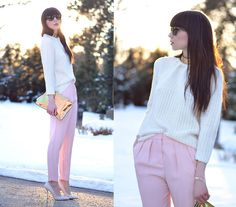 Pretty In Pink (by Ricarda Schernus) http://lookbook.nu/look/4692231-Pretty-In-Pink
