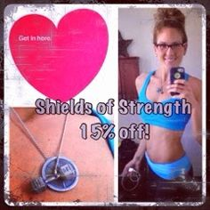 Inspirelinge Fitness: Shields of Strength - 15% Off Now Through June 15th!