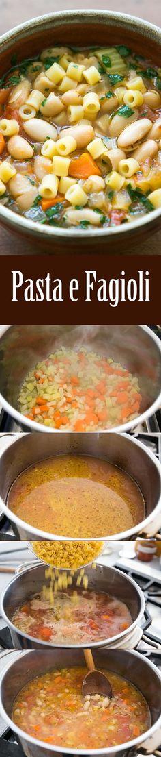 how to make pasta fazool soup
