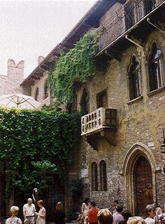Verona - Juliet's balcony