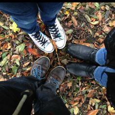 Three go to the park 🍁🍃🍂 by Linda Personal Taste, Chuck Taylor Sneakers, February, Footwear, Park, Boots, Style, Fashion, Crotch Boots