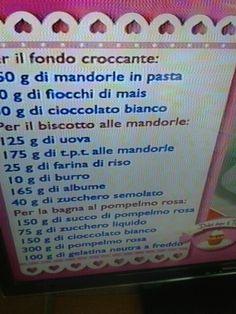 Fondo croccante per torta rosa chic Luca Montersino