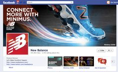 "New Balance Facebook page ""Ask a Question"""