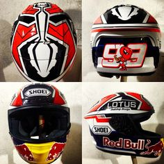 Marc Marquez helmet design by @dudshop