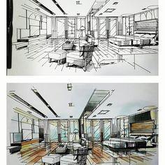 #másterbedroom #sketchdesign #interiordesign