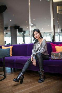 How to Wear Metallic Pieces at Any Time | Of Leather and Lace - Fashion Blog by Tina Lee | metallic outfits, outfit ideas for women, style tips, fashion trends
