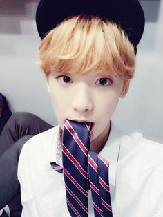 Sanha in school uniform