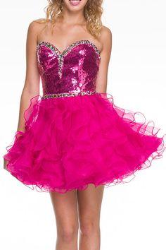 Homecoming DressesEvening Dresses under $140730Sweet Shine!