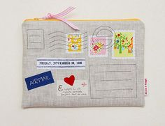 A Letter For You zipper pouch.