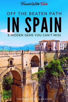 From staying in a remote monastery to seeing ancient Roman ruins, there are so many places to visit in Spain that are off the beaten path to add a little adventure to your trip. Click through to read Best Places To Travel, Cool Places To Visit, Travel Things, Places In Spain, Spain Travel Guide, Voyage Europe, Oregon, Spain And Portugal, Travel Advice