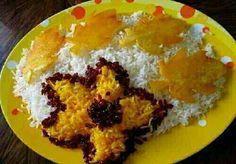 Persian rice with zafaran