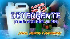 DETERGENTE - CASEIRO (faça o seu e Economize 100 vezes mais em Casa) - V...