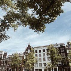 Pretty Amsterdam views 💙 #ilovemycity #gramthedam #amsterdam #view #vscocam