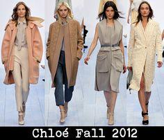 Chloé Fall 2012: Loving this colleciton