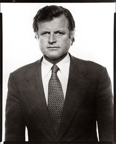 Richard Avedon - Ted Kennedy, Senator, Massachusetts