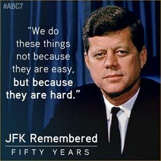 This is why I came forward to do something I know is difficult. It won't be easy but I know I will make it for sure. Jfk Quotes, Kennedy Quotes, Quotable Quotes, Qoutes, Los Kennedy, Robert Kennedy, Lincoln Kennedy, Jackie Kennedy, Patriotic Quotes
