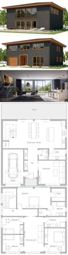 House Plan 2018 #modernhousedesign