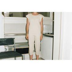 Savannah Long Romper - Cotton