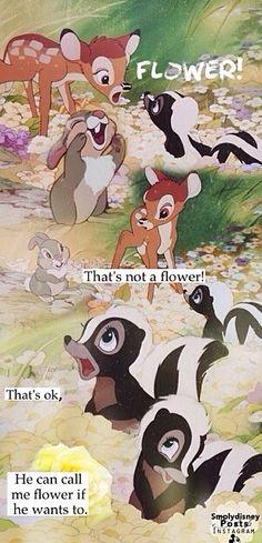 -Fleur ? mais ce n'est pas une fleur ! Hahaha ! -Mais il peut m'appeler Fleur, s'il le veut... Cute