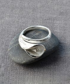 $33 Another great find on #zulily! Sterling Silver Calla Lily Ring #zulilyfinds