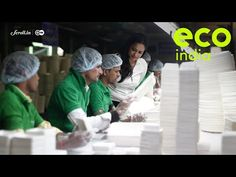 Eco India: A Delhi-based company has taken up the mighty task of eliminating single-use plastics - YouTube Tomorrow Will Be Better, Your Story, India, Youtube, Packaging, Green, Goa India, Wrapping, Youtubers