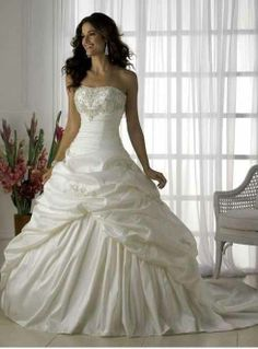 Handles Wedding Gown(Front View)