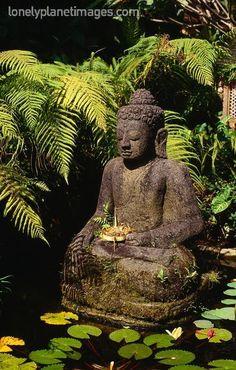 bali garden buddha - Google Search