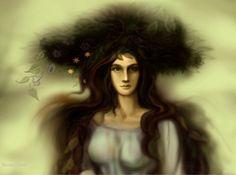 Yavanna by Meraclitus on DeviantArt