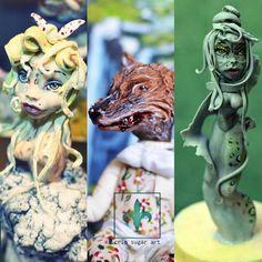 magic figurine - Cake by Crin sugarart