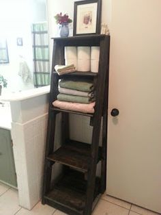 Bathroom Toiletry Organizer Made From Pallets
