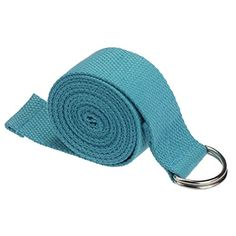 LEERYA New Yoga Stretch Strap DRing Belt Waist Leg Fitness 180CM Adjustable blue ** Continue to the product at the image link.