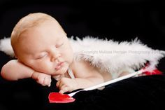 Cupid baby. Another Valentines baby photo idea :)