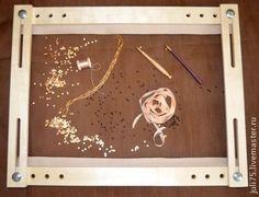 Вышивка ручной работы. Ярмарка Мастеров - ручная работа Рама для вышивания. Handmade.