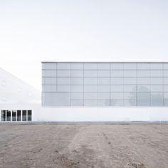 Campo Baeza . Pabellón Polideportivo y Aulario Universidad Francisco de Vitoria . Pozuelo de Alarcón (3)
