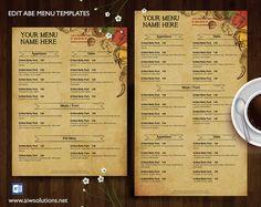 Bar menu template, Design & Templates Graphic Design Store Graphics, diy menu, Elegant Menus, Food Menu, Food Menu bar, French Restaurant Menu Template, graphic design, Menu bar, Menu Drink, menu ms word, menu Restaurant, menu template, Menu Templates, Printable Restaurant Menu Template, Special Set Menu Templates, Wedding Menu