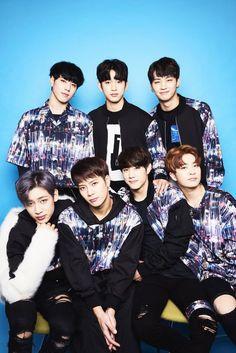 GOT7 : JB (Jaebum), Mark, Yugyeom, Bambam, Jackson, Youngjae, Junoir (Jinyong)