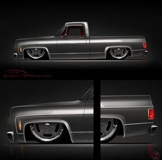 Hot Wheels - Damn this render via is the business hands up who is building this? Chevy C10, Vintage Chevy Trucks, Silverado Truck, Custom Chevy Trucks, Chevy Pickup Trucks, Classic Chevy Trucks, Chevy Pickups, Customised Trucks, Bagged Trucks